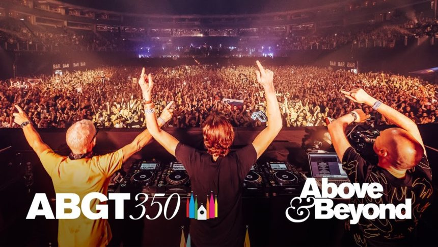 """ABOVE & BEYOND's Club Mix of """"Bittersweet & Blue,"""" is out now on ANJUNABEATS"""